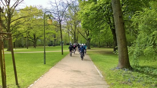 Fat Tire Tours Berlin: Biking in Tiergarten