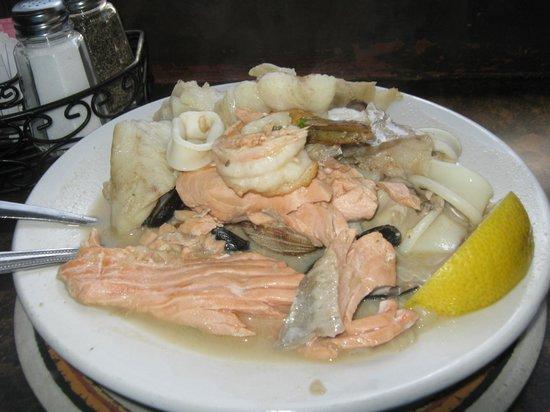 Athenian Inn : Athenian Seafood Bowl