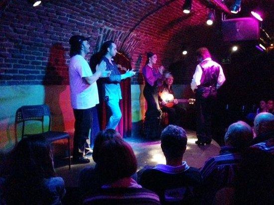 Essential Flamenco: The cellar stage.