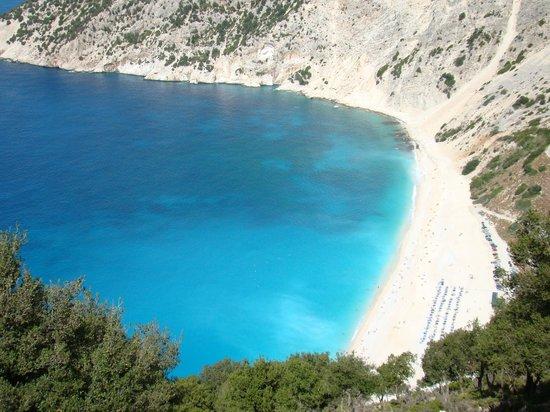 Kefalonia, Griechenland: Plaża Myrtos