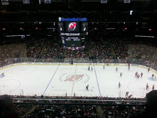 Prudential Center : Nice hockey arena