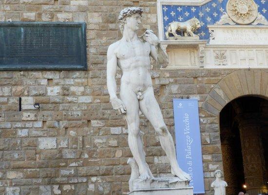 Palazzo Vecchio: David