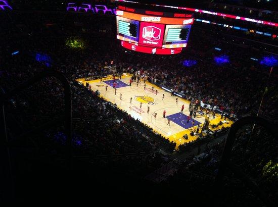 Staples Center : LA Lakers Game