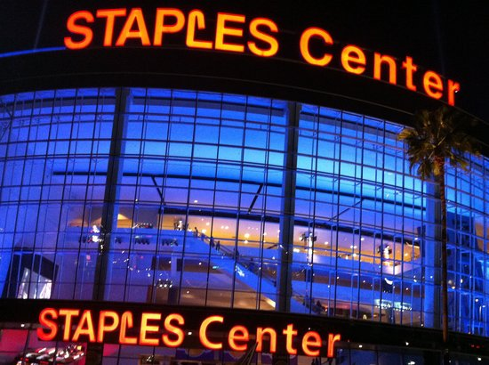 Staples Center : View from the outside