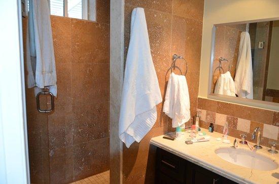 The Atrium Resort: One of the bathrooms