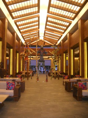 Barcelo Maya Beach : View of new Beach lobby