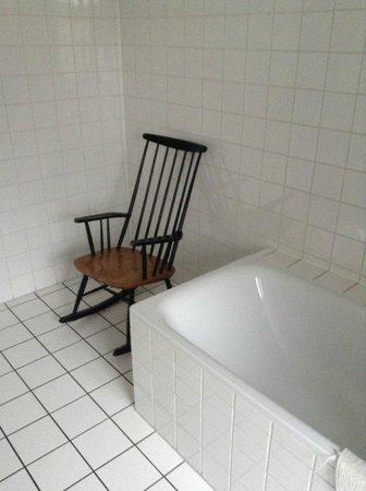 Die Wohngemeinschaft Hostel: Крослокачалка в ванной!