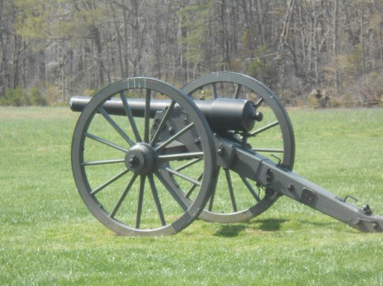 Fredericksburg National Cemetery: Artillery