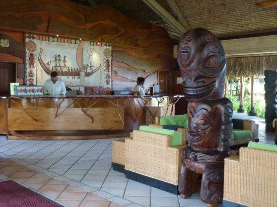 Hilton Moorea Lagoon Resort & Spa: Reception Area