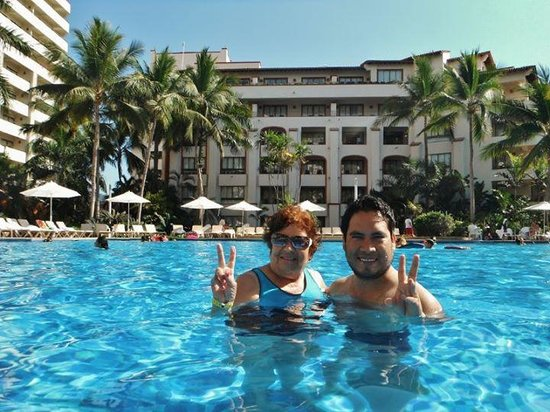 Sheraton Buganvilias Resort & Convention Center: Super relajados!