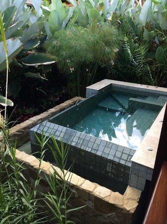 Nayara Springs: Private pool, kept warm by geothermal water
