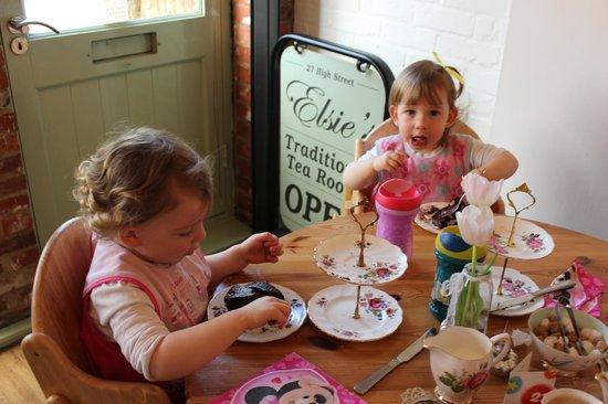 Elsies Traditional Tea Room: Great for kids