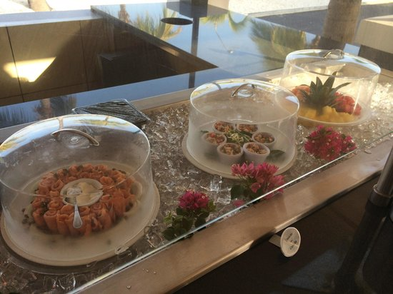Amsterdam Manor Beach Resort: Breakfast selection