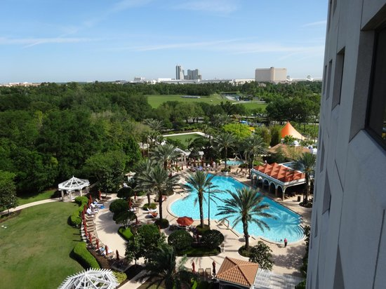 Renaissance Orlando at SeaWorld: View from our room