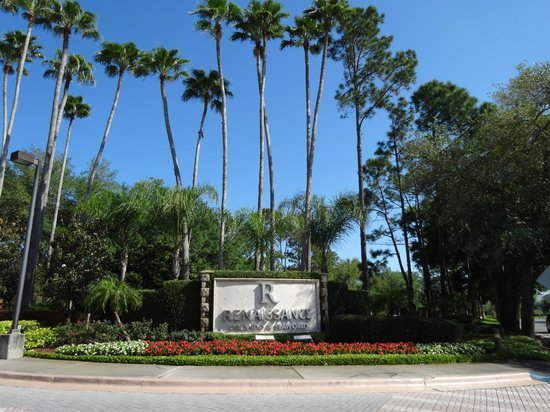 Renaissance Orlando at SeaWorld : Entrance