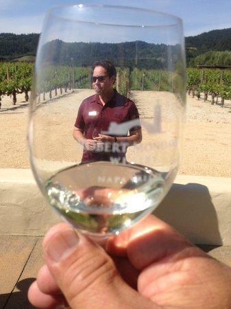 Wine Country Tour Shuttle : Eric @ Robert Mondavi Winery