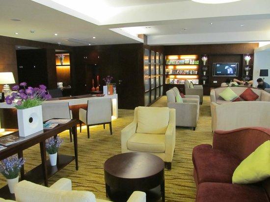 Holiday Inn Shifu Guangzhou: Club lounge