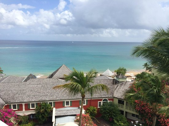 Sandals Regency La Toc : Our View from our room