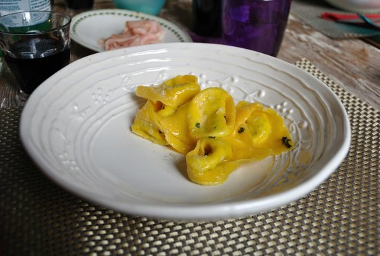 Taste of Italy: Tortelloni in a butter-sage sauce