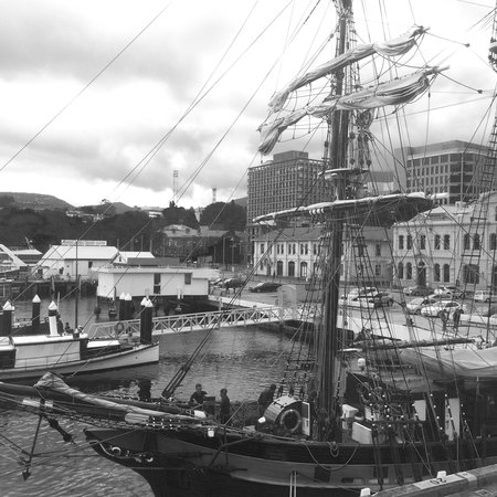 Somerset on the Pier Hobart : The view