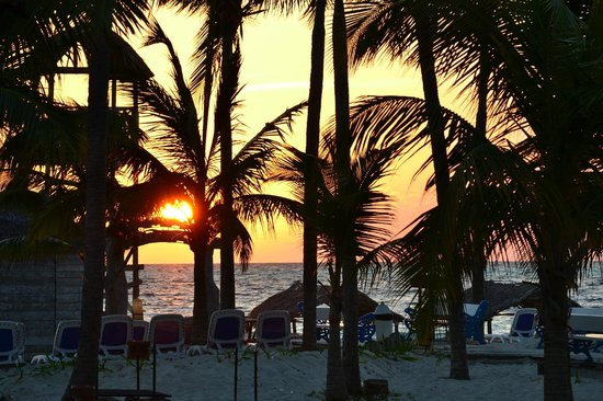 Melia Cayo Guillermo : Sunrise at the Pool Bar with Coffee in Hand