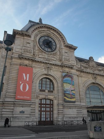 Musée d'Orsay : Outside