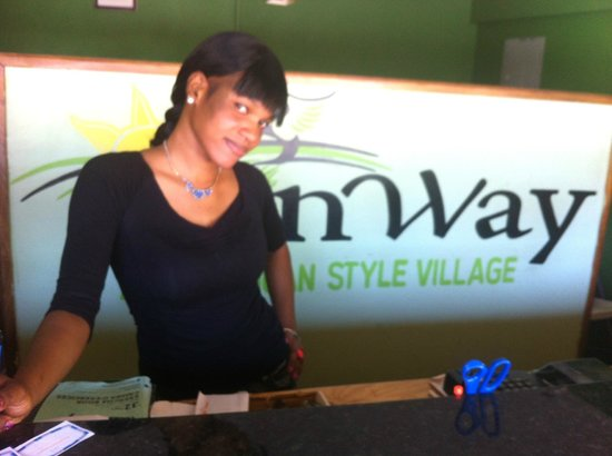 Donway, A Jamaican Style Village : Hotel Staff: Natasha A. Helpful and Welcoming.