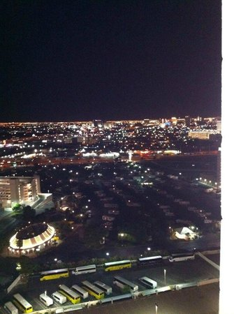 Circus Circus Hotel & Casino Las Vegas : View from our room in Skyrise Tower