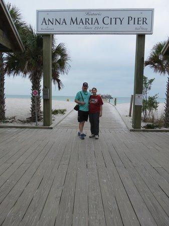 City Pier Restaurant: Anna Marie City Pier, Anna Marie, FL