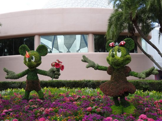 EPCOT : Flower Display