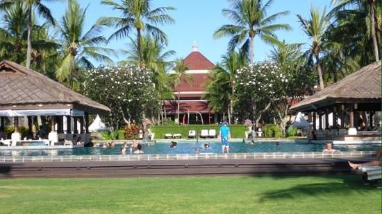 INTERCONTINENTAL Bali Resort: main pool area