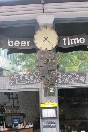 BeerTime: Lots of clocks here!