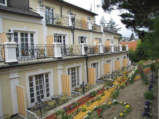 Landhaus Fuhrgasslhuber: Facing the back garden