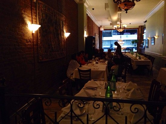 Ravagh Persian Grill: Upstairs, good for a larger party