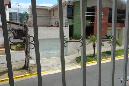 Costa Rica Guesthouse: Vista desde la habitación