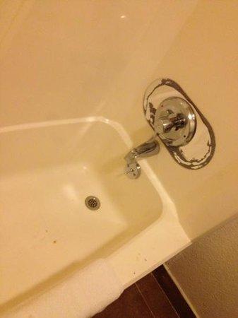 Rodeway Inn : tub