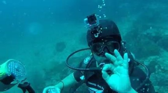 """Bophut Diving School: """"A"""" ok"""