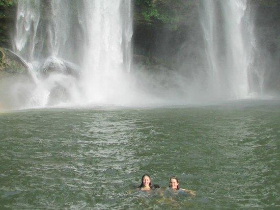 Cascadas de Misol-Ha: The best swimming hole!