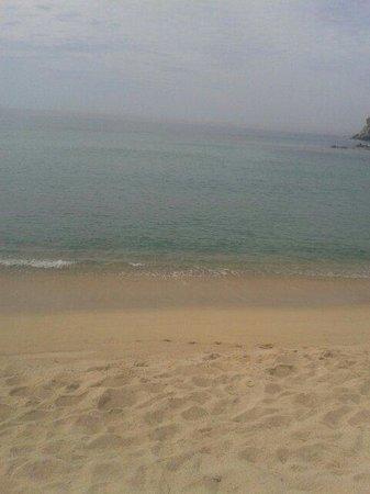 Spiaggia di Solanas: Winter sea