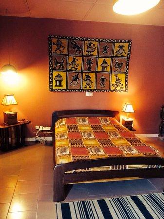 Hotel Mon Afrik: Des chambres du meilleur goût , originales,et confortables
