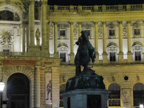 Historic Center of Vienna: A nightly view