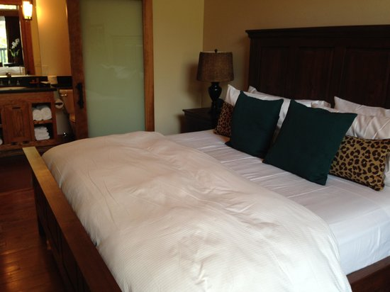 The Grand Idyllwild Lodge: Harmony bed
