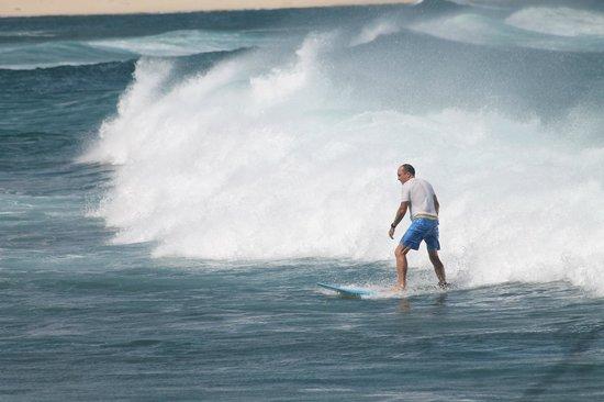 Turtle Bay Resort : surfing the hotel break