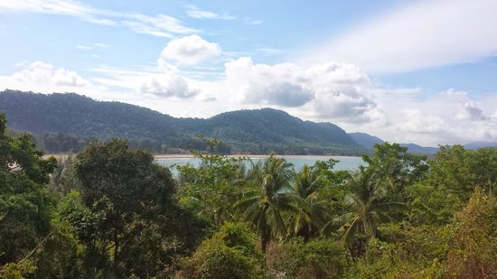 Crown Lanta Resort & Spa : View from breakfast