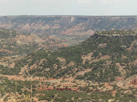 Palo Duro Canyon State Park : one of the many views