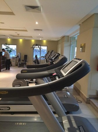 NH Collection Plaza Santiago: Gym