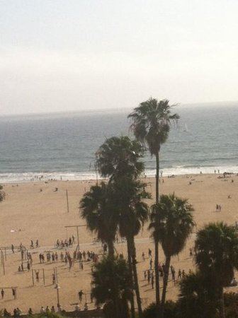 Loews Santa Monica Beach Hotel : Great view