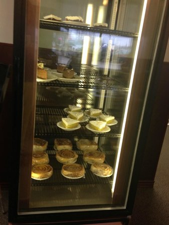 The Dessert Cooler at the front of the restaurant...very tempting, and looks delicious! Del Rios