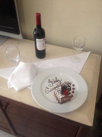 Casa Velas : Detalle en la suite para celebrar el cumpleaños