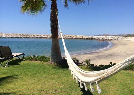 Hotel El Ganzo: Beach side